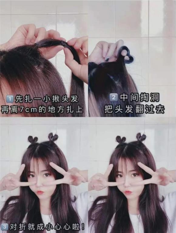 tóc đẹp, kiểu tóc dễ làm