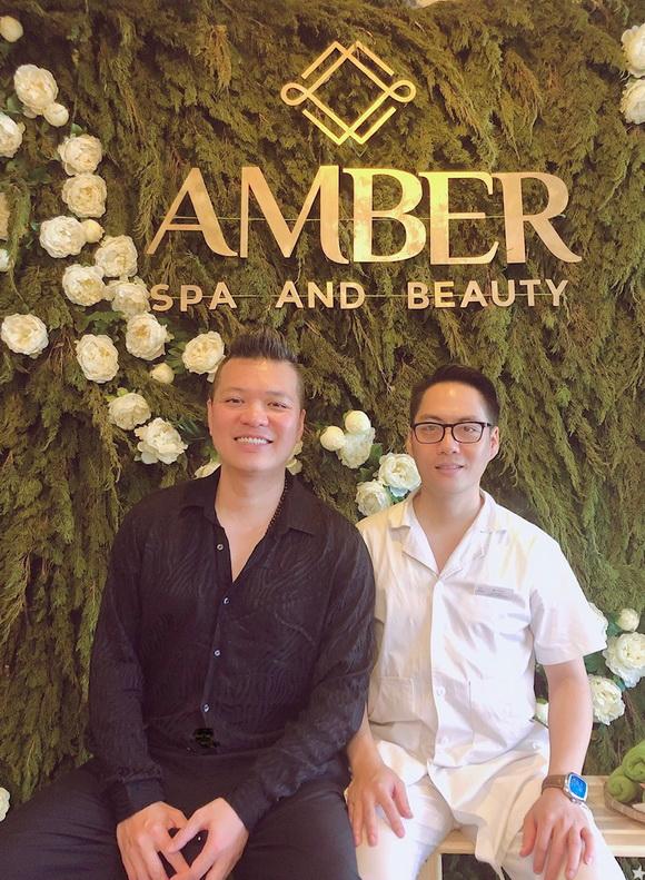 Amber Spa & Beauty, Bác sĩ Vũ Anh Tùng, bấm huyệt và châm cứu