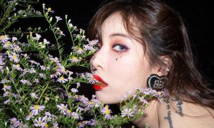 hyuna, nữ hoàng gợi cảm, khóa môi, sao hàn
