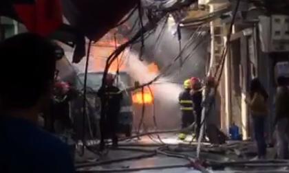 Cháy quán karaoke, hỏa hoạn, Tin nóng