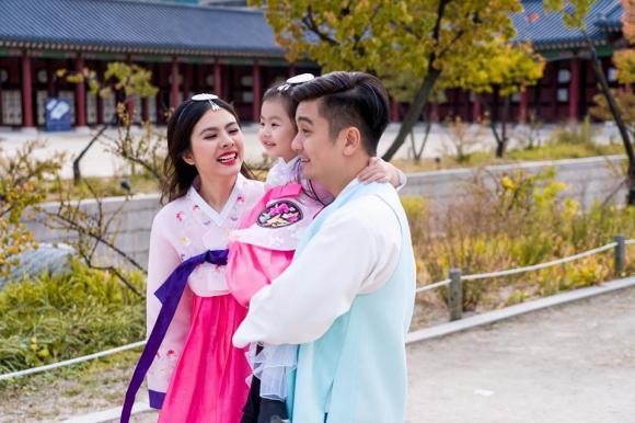 Vân Trang, chồng Vân Trang, con gái Vân Trang
