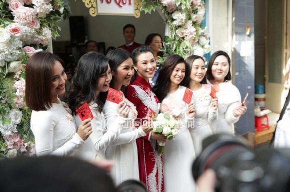 á hậu Hoàng Oanh, MC Hoàng Oanh, sao Việt, đám cưới