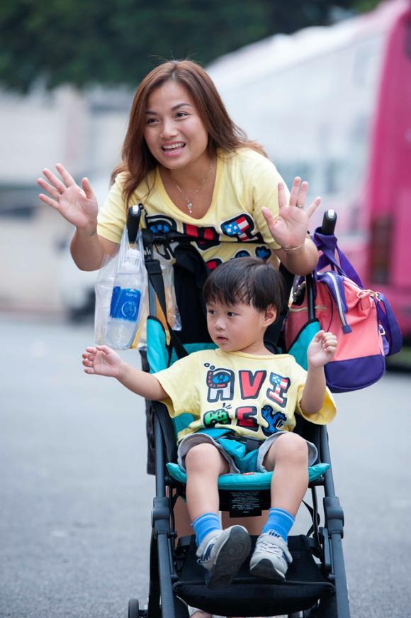 Quỳnh Trần JP, youtuber, Quỳnh Trần JP và bé Sa