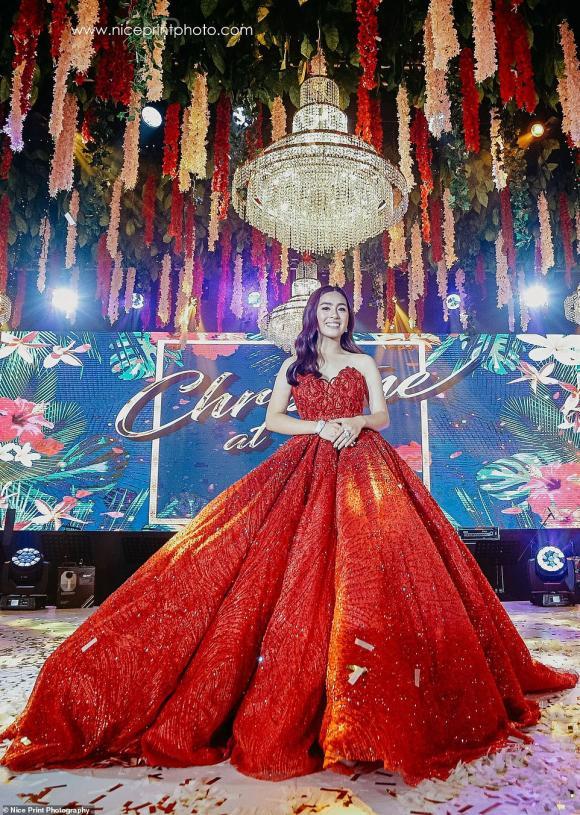 giới thượng lưu,sinh nhật con nhà siêu giàu châu Á,Christine Lim