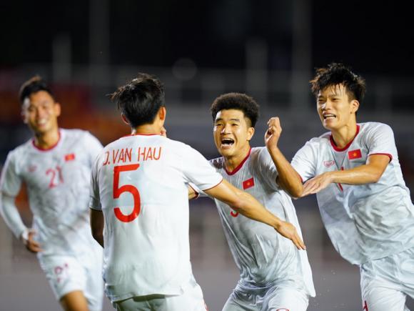 U22 Việt Nam, SEA Games 30, Quang Hải, U22 Thái Lan