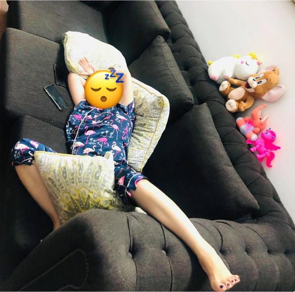 danh hài Thuý Nga, sao Việt, ngủ bá đạo