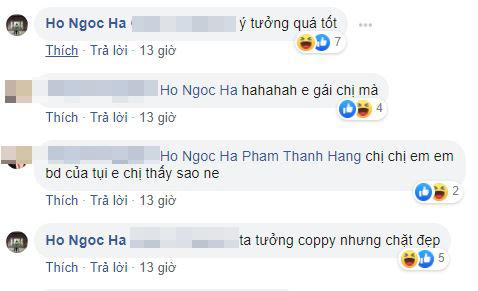 BB. Trần, Hà Hồ, Thanh Hằng