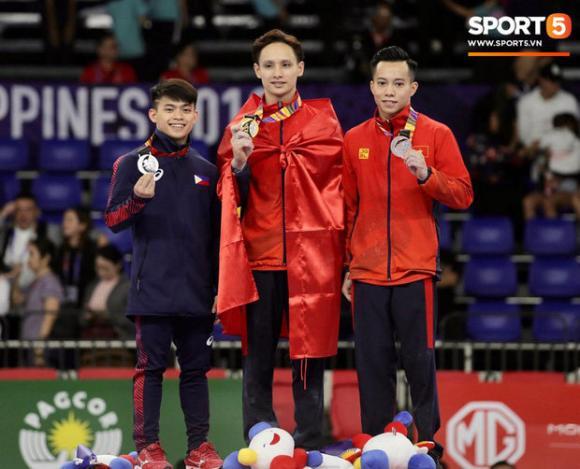 Đinh Phương Thành, SEA Games 30, Nam vương thể dục dụng cụ