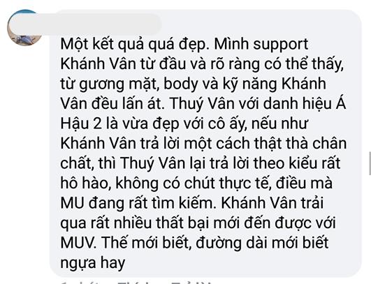 Khánh Vân, Sao Việt, Hoa Hậu Hoàn Vũ Việt Nam 2019