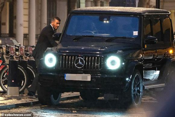 David Beckham,Beckham đỗ xe trái phép,án phạt của David Beckham,sao Hollywood