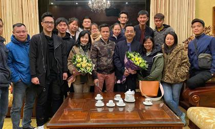 NSND Hoàng Dũng, diễn viên Quang Tuấn, sao Việt