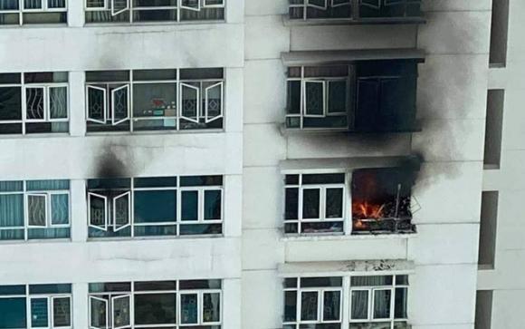 chung cư Hoàng Anh Gold House, cháy chung cư, hỏa hoạn