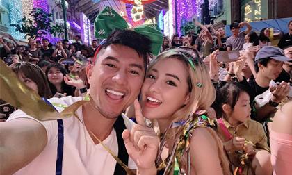 ca sĩ Lương Bằng Quang, hotgirl Ngân 98, sao Việt