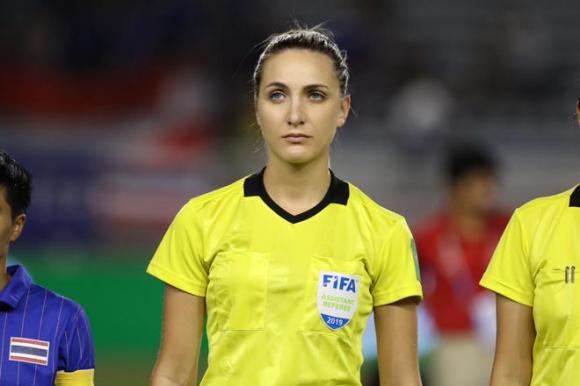 Joanna Charaktis, Trọng tài biên, chung kết bóng đá nữ SEA Games, SEA Games 30