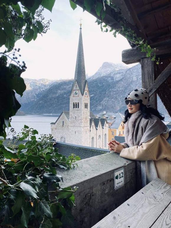 Hoa hậu Đền Hùng Giáng My, Giáng My du lịch, sao việt