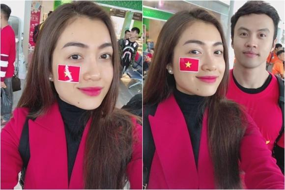 Khánh Vân, Sao Việt yêu bóng đá, sao việt