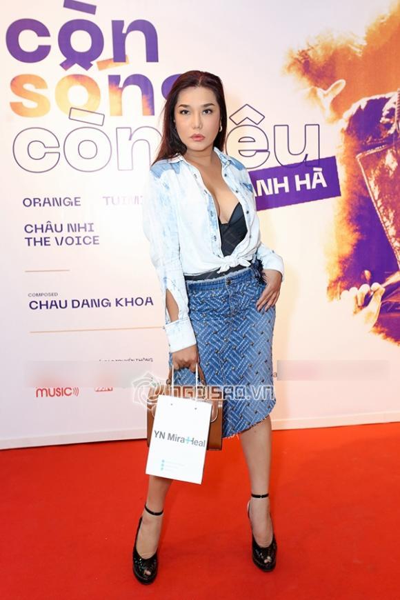 ca sĩ Thanh Hà, MC Kỳ Duyên, ca sĩ Cindy Thái Tài, sao Việt