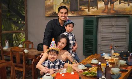Quỳnh Trâm, vợ Baggio, giảm cân sau sinh,