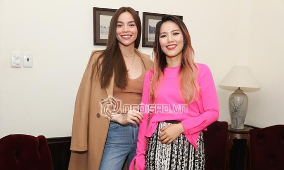 ca sĩ Hồ Ngọc Hà,nữ ca sĩ hồ ngọc hà, siêu mẫu Thanh Hằng, NTK Công Trí, sao Việt