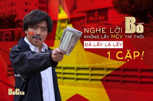 MC Trấn Thành, Đoàn Văn Hậu, sao Việt