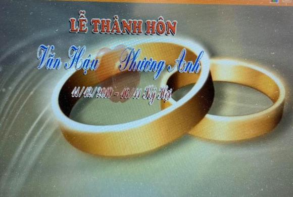 Chiến Thắng, đám cưới Văn Hậu, sao việt