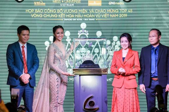 Vương miện Brave Heart, Hoa hậu Hoàn vũ Việt nam 2019, vương miện Hoa hậu Hoàn vũ, Long Beach Pearl