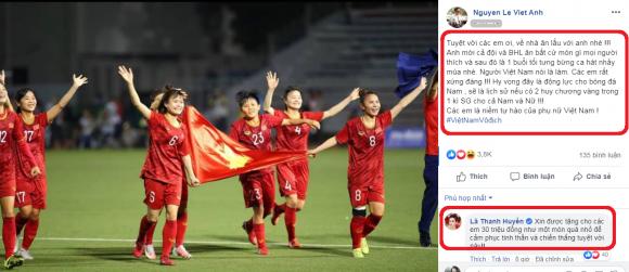 Mỹ Lệ, bóng đá nữ Việt Nam, NTK Đức Hùng, Việt Anh