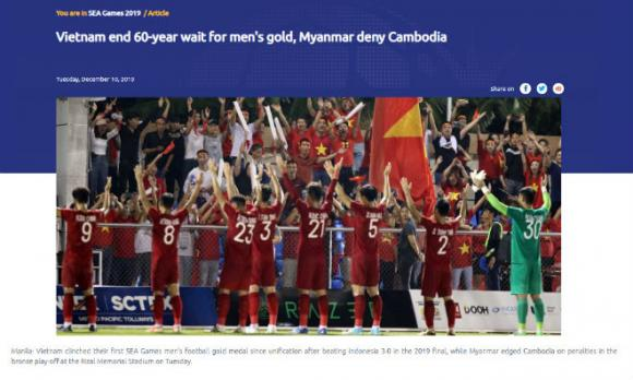 HCV SEA Games, U22 Việt Nam, tiền thưởng, SEA Games 30