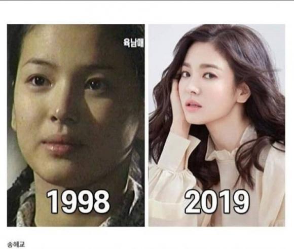 lee young ae, kim tae hee, song hye kyo, jeon ji hyun, ma cà rồng, mỹ nhân hàn