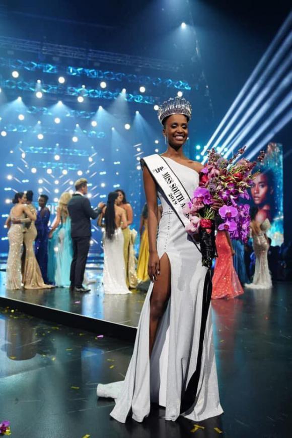 tân Hoa hậu Hoàn vũ,Zozibini Tunzi,Zozibini Tunzi Miss Universe 2019