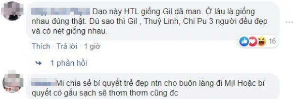 Gil Lê, Hoàng Thùy Linh, sao việt