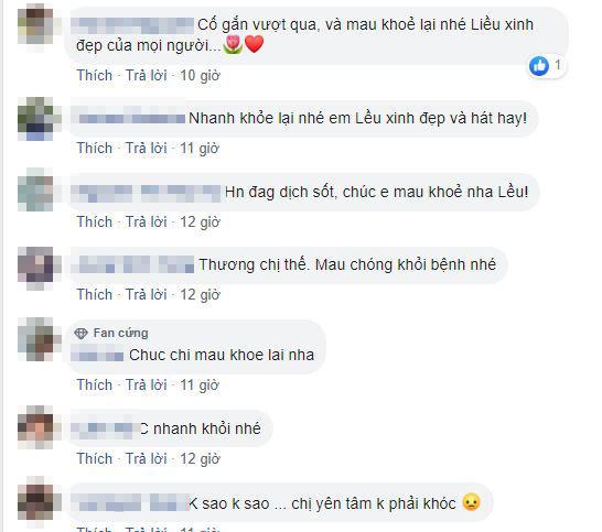 Lều Phương Anh, Lều Phương Anh nhập viện, sao Việt