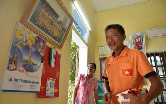 Đoàn văn hậu,u22 việt nam,nhà văn hậu ở quê