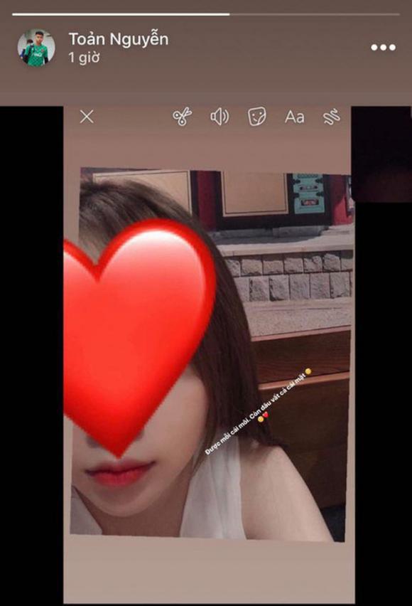 Văn Toản, bạn gái Văn Toản, Thu Uyên