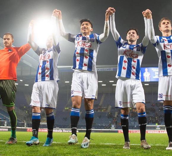 SC Heerenveen, Đoàn Văn Hậu, Hà Lan