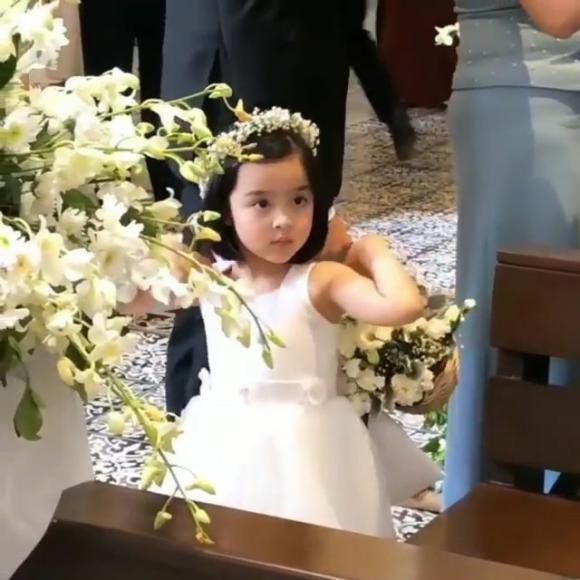 marian rivera, con gái marian rivera, bé zia, phù dâu nhí, mỹ nhân đẹp nhất philippines