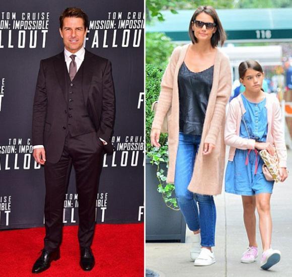 Tom Cruise, Katie Holmes, bé Suri