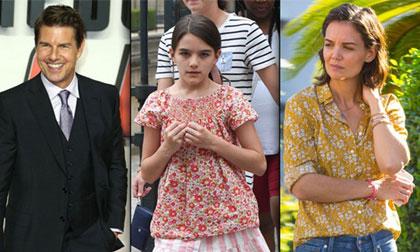 Katie Holmes,Tom Cruise,Suri Cruise,sao Hollywood