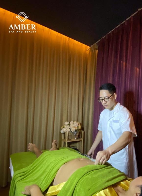 Amber spa & Beauty, Bác sĩ Vũ Anh Tùng, Bấm huyệt