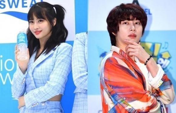 Heechul, super junior, momo, twice, hẹn hò, sao hàn