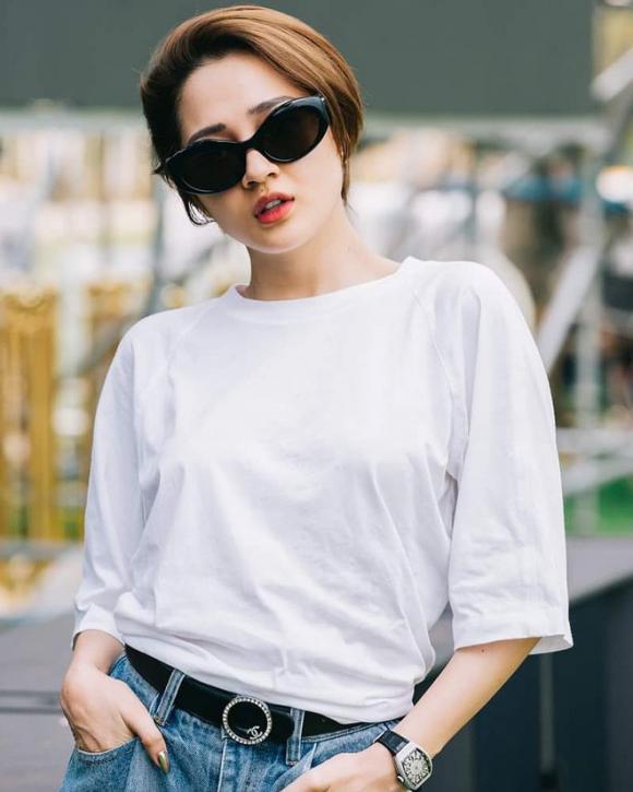 Hậu chia tay Hồ Quang Hiếu, Bảo Anh 'chơi lớn' khi đổi kiểu tóc ngắn, bạch kim