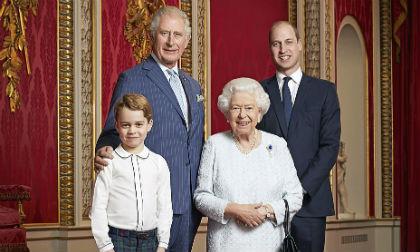 hoàng tử george, công chúa charlotte, hoàng gia anh