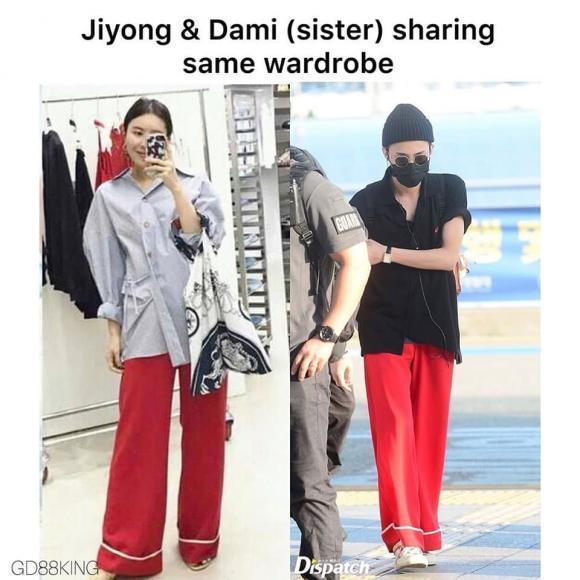 G-Dragon,chị gái G-Dragon,sao Hàn
