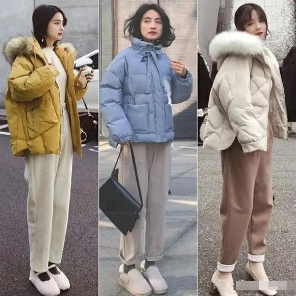 quần ống rộng, trang phục mùa đông, xu hướng thời trang 2020
