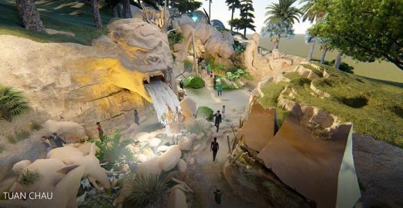 King Kong - Khủng long, hạ long, công viên khủng long
