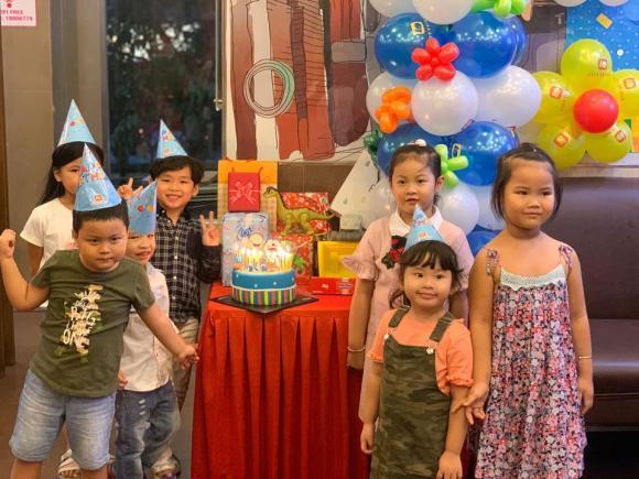 Chồng vắng mặt trong sinh nhật 5 tuổi của con trai Hoa hậu Diễm Hương