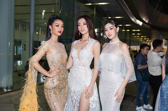 hoa hậu Tiểu Vy, á hậu Diễm Trang, sao Việt, hoa hậu Đỗ Mỹ inh, á hậu Tường San, sao Việ