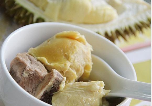 soup gà sầu riêng, món ngon mỗi ngày, cách chế biến soup gà sầu riêng
