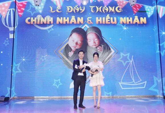 MC Thành Trung tiết lộ ý nghĩa tên của hai con sinh đôi