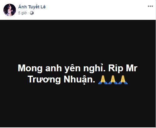 Nguyên giám đốc nhà hát tuổi trẻ, sao Việt, Trương Nhuận, Trương Nhuận qua đời